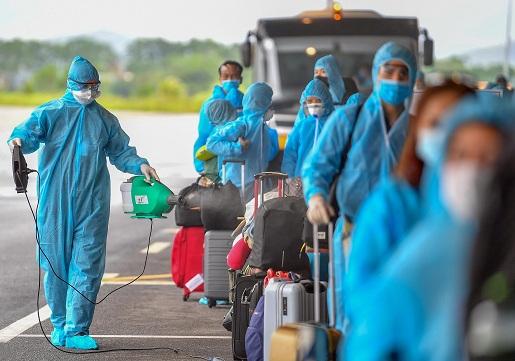Sân bay Vân Đồn đã đón hơn 25.500 hành khách từ các nước có dịch trên thế giới