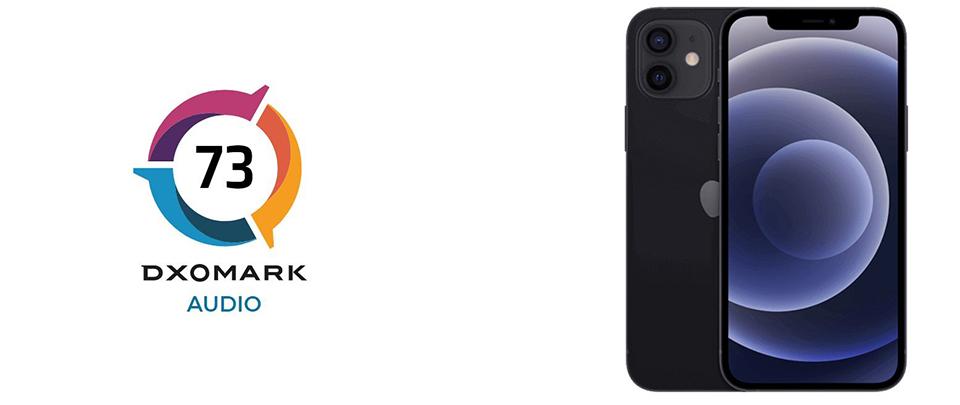 iPhone 12 được DxOmark xếp hạng thứ 7 về chất lượng âm thanh