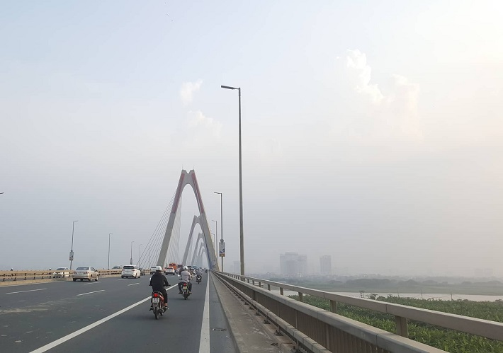 Chất lượng không khí Hà Nội diễn biến xấu