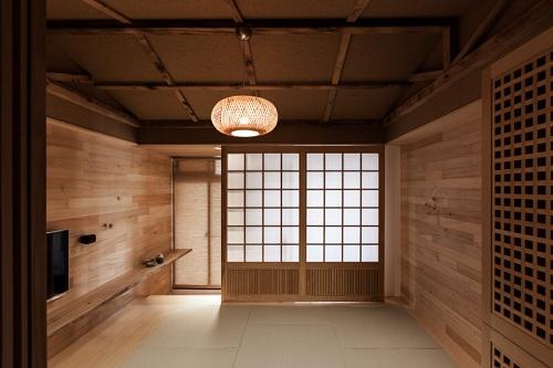 Thiết kế penthouse phong cách Nhật Bản