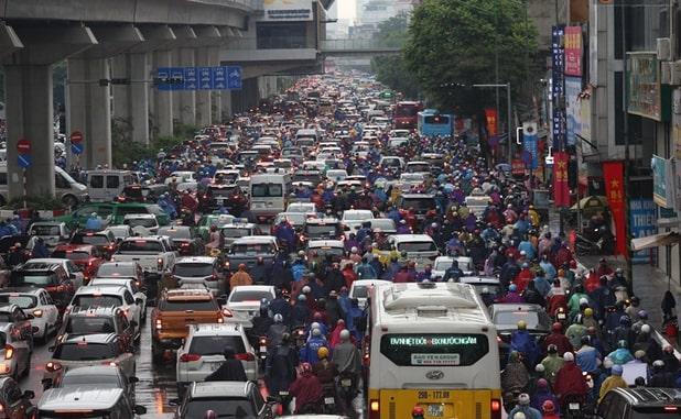 Hà Nội đặt mục tiêu không để ùn tắc giao thông kéo dài trên 30 phút