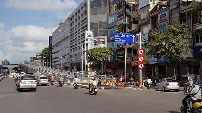 Hà Nội: Chính thức thông xe đường Vành đai 2 đoạn Ngã Tư Sở - Ngã Tư Vọng