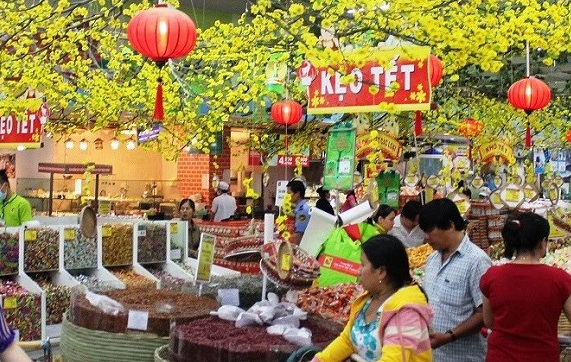 Hà Nội bố trí 28 điểm hỗ trợ các tỉnh tiêu thụ hàng Tết 2021