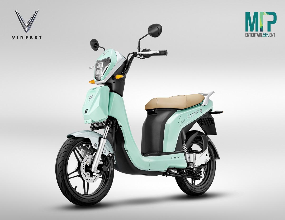 Vinfast hợp tác M-TP Entertainment ra mắt xe máy điện phiên bản đặc biệt