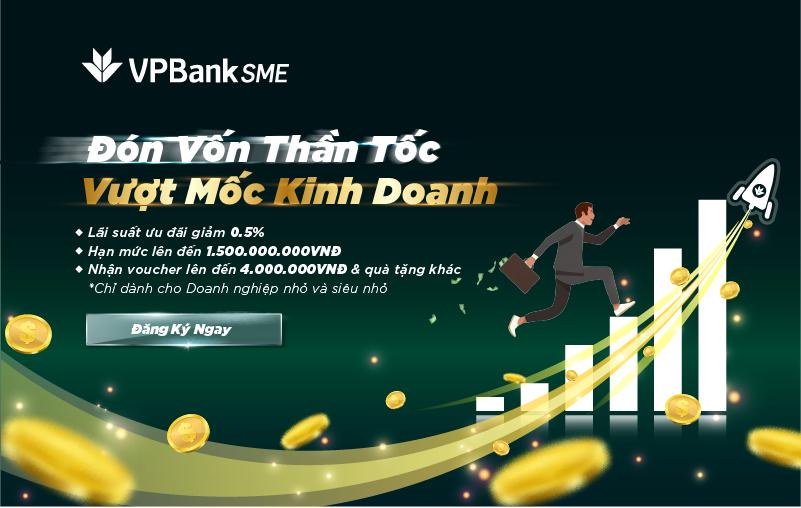 VPBank giảm lãi suất, mạnh tay tiếp vốn cho doanh nghiệp nhỏ dịp cuối năm