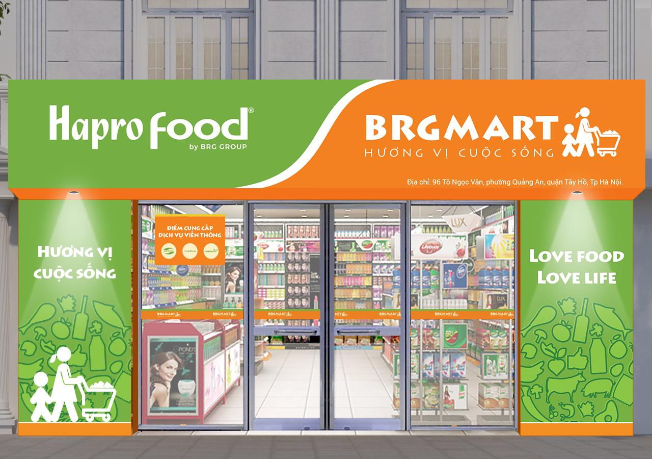 Tập đoàn BRG mở thêm 10 cửa hàng HaproFood phục vụ nhân dân