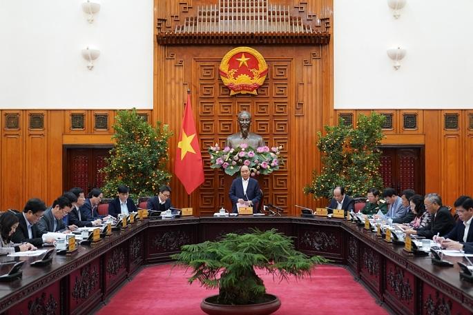 Thủ tướng chủ trì họp về phòng, chống dịch do virus Corona gây ra