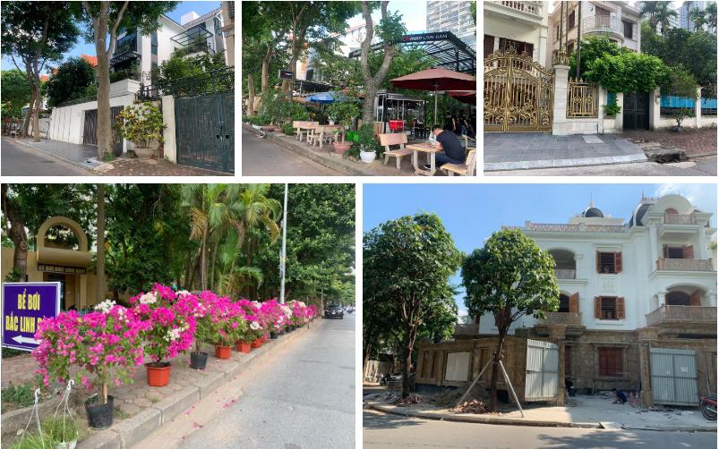 Tình trạng lấn chiếm, phá vỡ vỉa hè tại Linh Đàm: