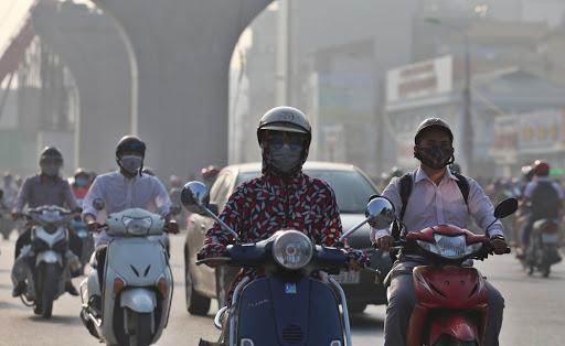 Chất lượng không khí Bắc Bộ đang ở mức nguy hại