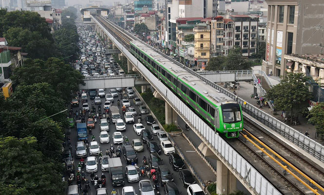Đường sắt đô thị Cát Linh - Hà Đông sẵn sàng khai thác trong quý I-2021