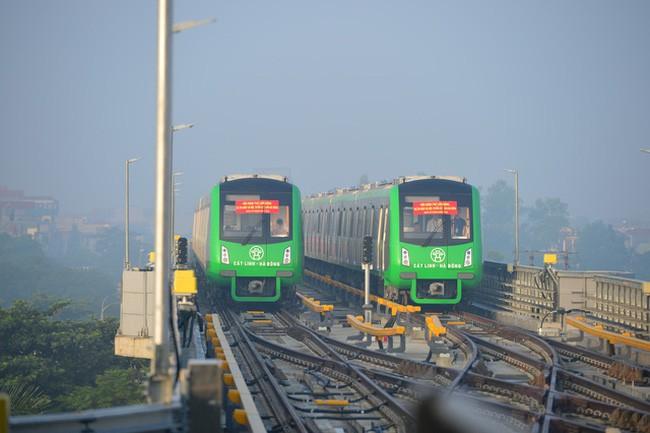 Đường sắt đô thị Cát Linh - Hà Đông sẽ được chạy thử vào cuối tuần này