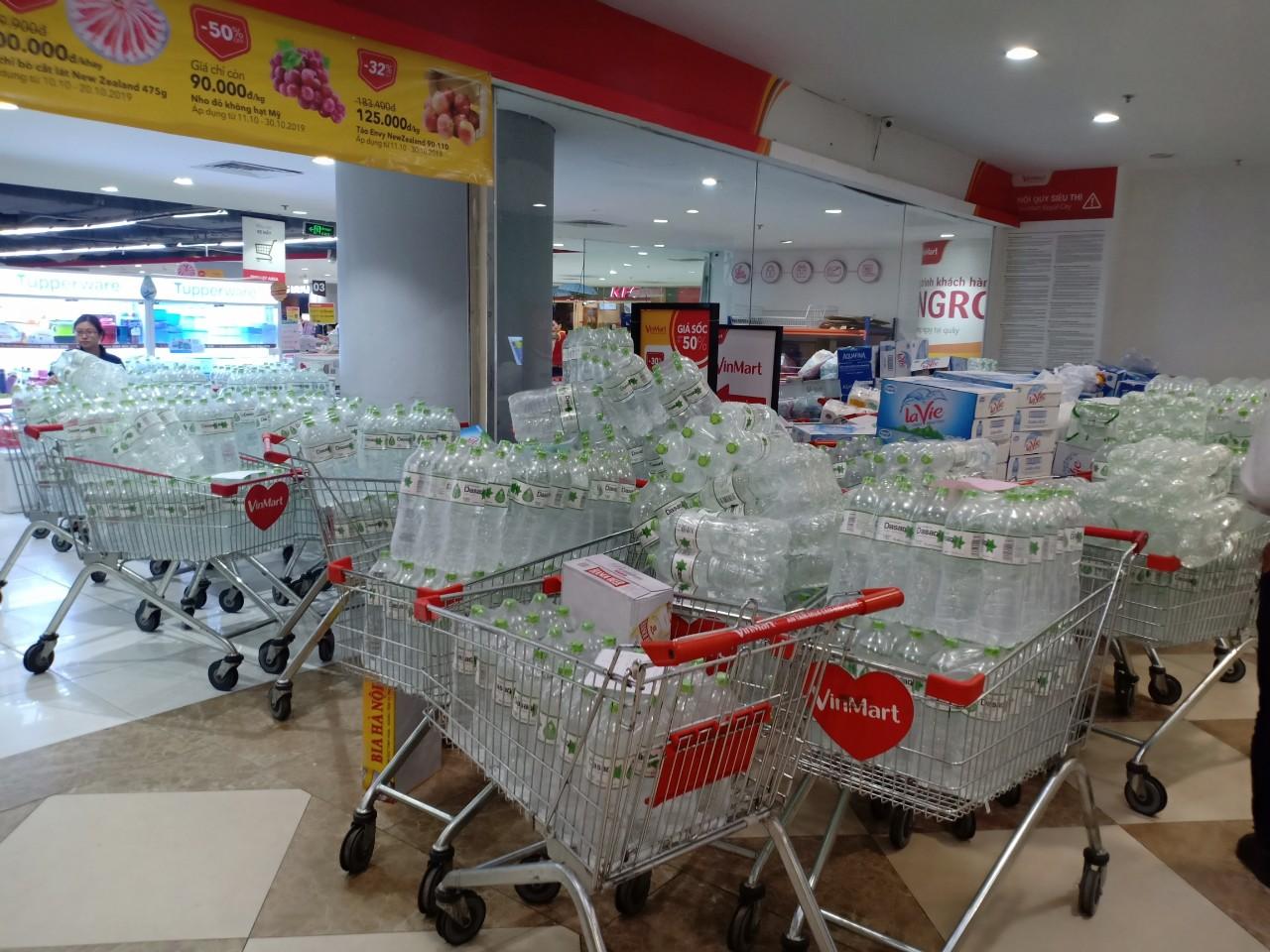 Hà Nội: Các siêu thị