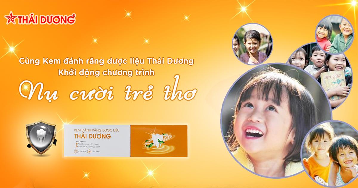 """Sao Thái Dương: Chính thức khởi động chương trình """"Nụ cười trẻ thơ"""" toàn quốc"""
