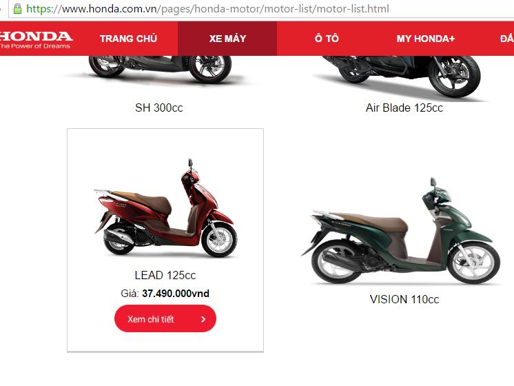 ...vẫn cao hơn một ít so với giá trên website chính thức của hãng