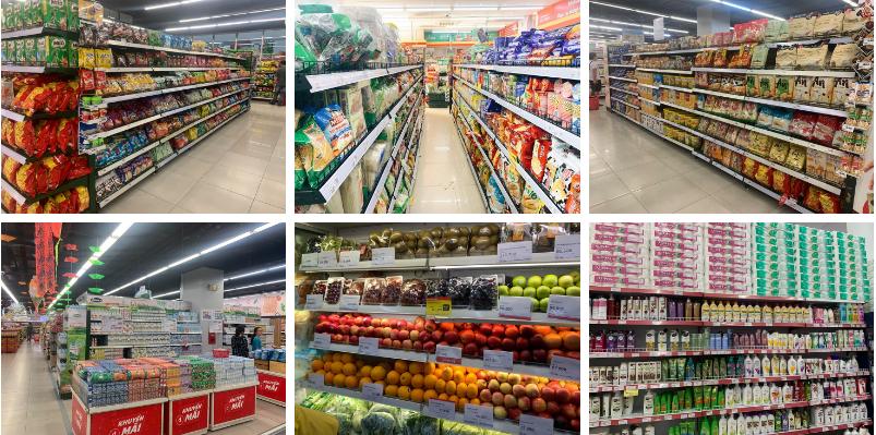 Hệ thống các siêu thị