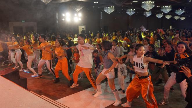 Lamita: Rèn luyện sức khỏe bằng vũ điệu Lasalba