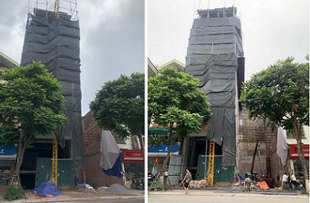 Phường Khương Mai: Công trình xây dựng trên phố kiểu mẫu