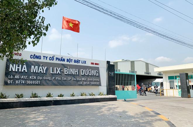 Công ty CP Bột giặt Lix