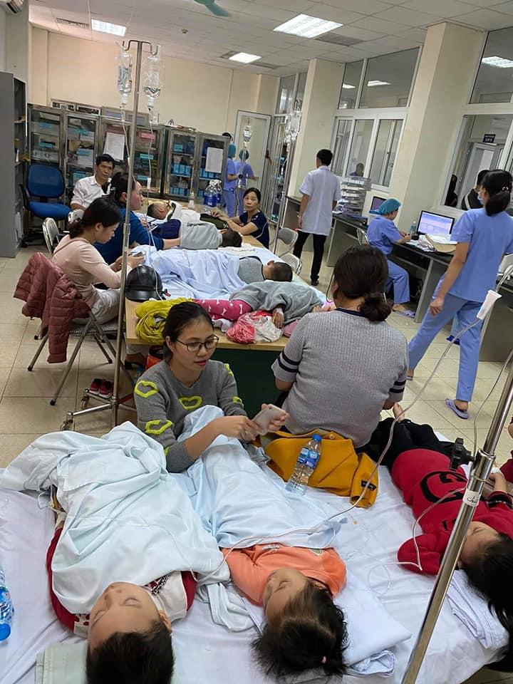 Thanh Hóa: Hơn 100 trẻ mầm non nhập viện nghi ngộ độc thực phẩm