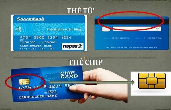 Ngân hàng dự kiến chỉ phát hành thẻ chip thay cho thẻ từ