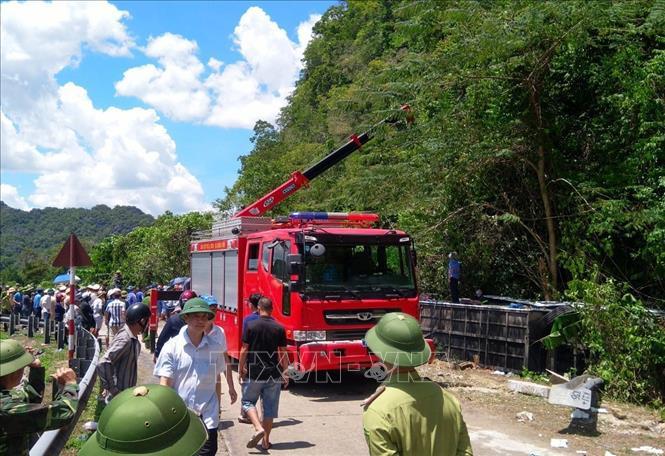 Vụ tai nạn thương tâm ở Quảng Bình: Số người tử vong tăng lên 13 người