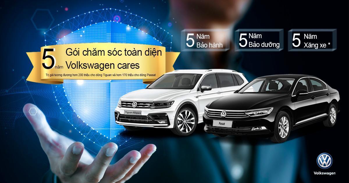 """VW Việt Nam khuyến mại gói """"chăm sóc toàn diện 5 năm"""" dành cho khách hàng"""